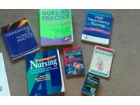 Nursing course degree / diploma study reference /text books - student nurse