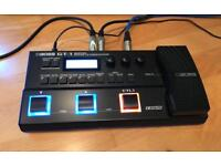 Boss GT-1 pedal multi effects with power supply adaptor, as new conditions