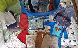 Huge bag of boy's clothes (age 1 - 2yrs)