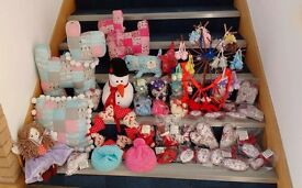 Variety of hand made gifts