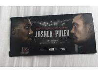 Anthony Joshua floor tickets