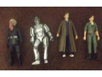 Collection of Doctor who figures x 4