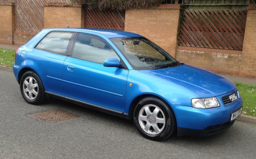 2000 audi a3 1 6 sport kingfisher blue l k in northampton northamptonshire gumtree. Black Bedroom Furniture Sets. Home Design Ideas