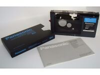 Video Convertor - Panasonic Converter Adaptor. VHS-C Camera Video Tape to VHS. Only £18. Can post!