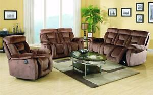 RECLINER  SOFA SET ON HUGE SALE!!!!!!CALL 4167437700