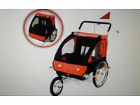 Samax 2-in-1 bicycle trailer and jogger. Used only once.
