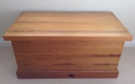 Quality Pine Bedding Chest Storage Box / Cabinet For Linen etc