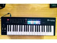 Novation NOVLKE49MK2 Launchkey 49 MKII USB Keyboard Controller for Ableton Live - with box