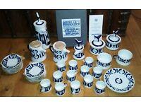 Castro Sargadelos china coffee/tea set