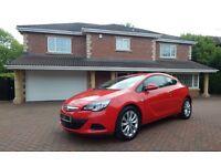 Vauxhall Astra GTC SPORT CDTI S/S (red) 2012