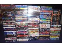 JOB LOT OF 175 DVDS AND 15 VCDS