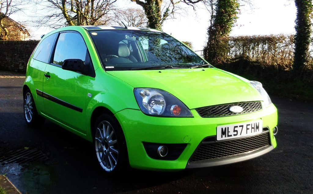 Ford Fiesta Hatchback 2014 >> Ford Fiesta Zetec s Celebration Green 2007/57 Rare Limited Edition 12 Months mot NOT FOCUS ST RS ...