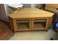"Oak Corner TV Stand for up To 50"" LCD"
