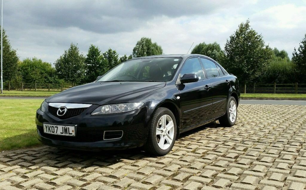 mazda 6 katano 2 0 2007 black in leicester leicestershire gumtree. Black Bedroom Furniture Sets. Home Design Ideas