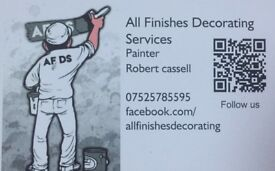 Painter & decorater proffesional /low price bookings available