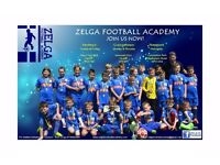 Football Academy for children.