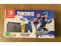 Nintendo Switch 32GB Limited Edition Fortnite console 2020 model