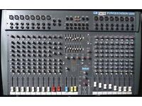 Studio Mixer Soundcraft Spirit PowerStation 1200 Excellent Condition