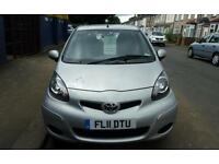 TOYOTA AYGO, 1.0, 2011 REGISTRATION, VERY GOOD CONDITION, £2,400