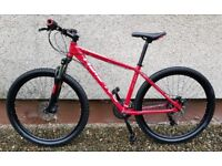 """RALEIGHT HELION 3.0 - MOUNTAIN BIKE - IMMACULATE CONDITION - 17"""" FRAME - 27.5"""" WHEELS - 3 MONTHS OLD"""
