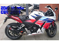Honda CBR 300r fully loaded with extras fully serviced