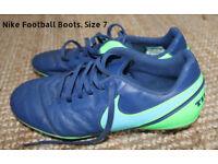Nike Football Boots. Size 7