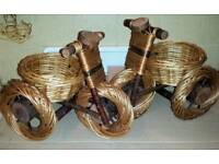WOOD BICYCLE ORNAMENTS - IF READING THIS THEY WILL STILL BE FOR SALE