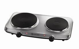 Russell Hobbs Table Top Electric Hob Twin