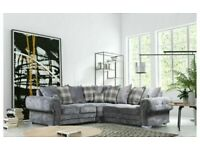 🔵💖🔴PREMIUM QUALITY🔵💖🔴 verona 3 and 2 seater sofa set in grey color-cash on delivery