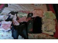 Girls Clothes Bundle 0-6 months