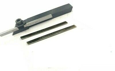 8mm Mini Parting Tool Cut Off Holder With 3 Pieces Hss Blades For Mini Lathe