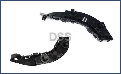 Honda Bracket - Genuine Honda Civic Front Bumper Spacer Support Bracket Left + Right Set OEM