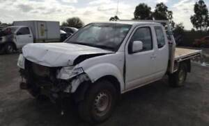WRECKING KING CAB NISSAN NAVARA D40 ONLY 74,000KM STOCK NO:N0049 Wingfield Port Adelaide Area Preview
