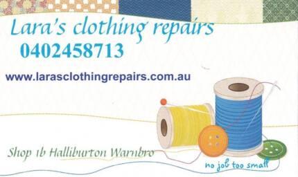 CLOTHING REPAIRS & ALTERATIONS LARA'S Warnbro Rockingham Area Preview