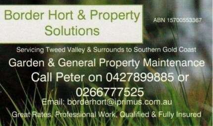 Border Hort & Property Solutions/ Lawn, Garden & Property Care