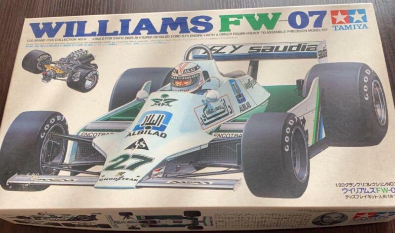 F1 DECAL 1//43 WILLIAMS FW-07 F1 1979 JONES-REGAZZONI