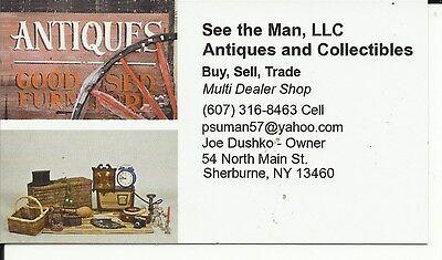 See the Man for Antiques