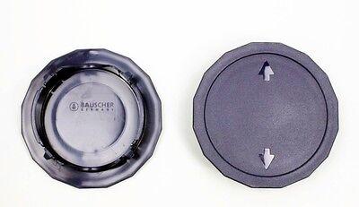 Bauscher Systemgeschirr Dialog 40x Kaffekannen-Deckel dunkelblau
