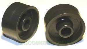 2 PACK CHAIN IDLER PULLEY FITS DIXON PART# 1713, 539124278 ROLLER ZERO CONE ZTR