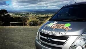 Modern Coffee Van for sale ( Non franchised ) Be Your Own Boss