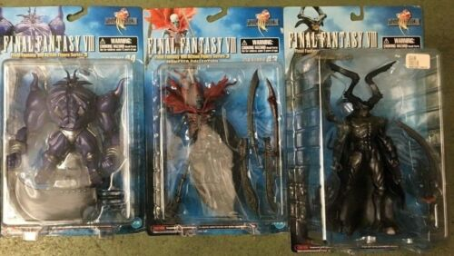 FINAL FANTASY VIII ACTION FIGURE SERIES 3 MONSTER COLLECTION LOT OF THREE