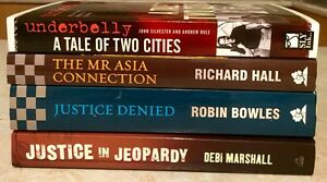 4 TRUE AUSTRALIAN CRIME BOOKS Forster Great Lakes Area Preview