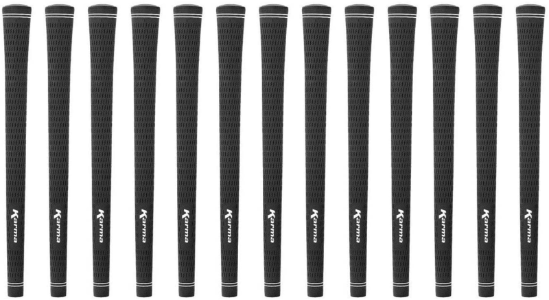 Karma Velour Junior Black 13 Piece Golf Grip Bundle