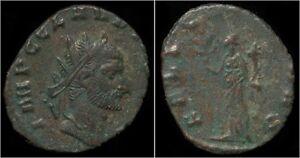 Claudius-II-Gothicus-billon-antoninianus-Felicitas-standing-left