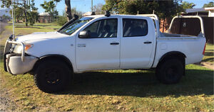 Toyota Hilux 4x4 dual cab 2007 Brinsmead Cairns City Preview