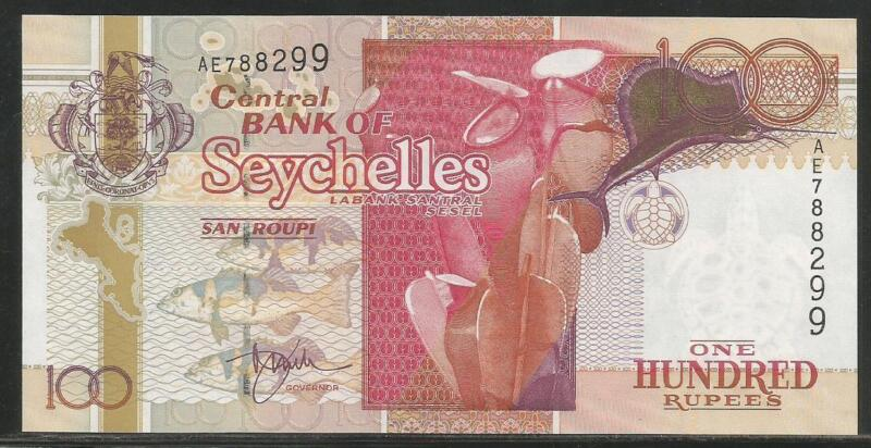 Seychelles P-40 100 Rupees ND (2001) Unc