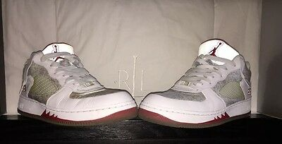 AJF 5 Low Nike Air Jump Man 23 Basketball Shoes 1st Collaboration Size 10 1/2
