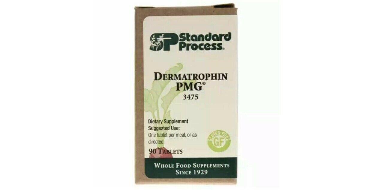 Standard Process Dermatrophin PMG 90 tablets exp 04/22