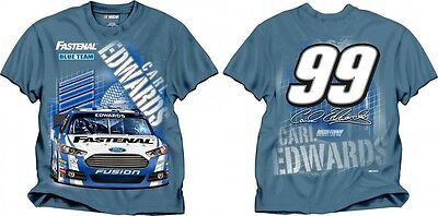 Carl Edwards Checkered Flag Sports  99 Fastenal Row One Tee Free Ship