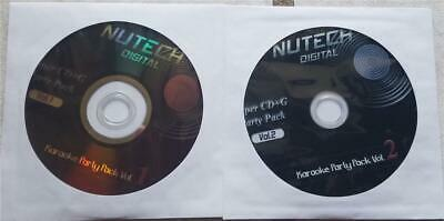 2 SCDG DISCS SET NUTECH KARAOKE *2468 SONGS* MULTIPLEX COUNTRY,POP 80'S,ROCK
